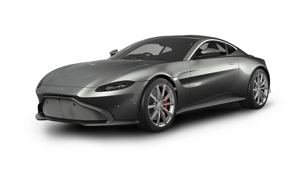 Aston Martin  Vantage Magnetic Silver Colour