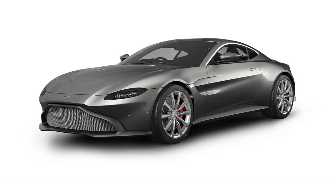 Aston Martin  V8 Vantage Magnetic Silver Colour