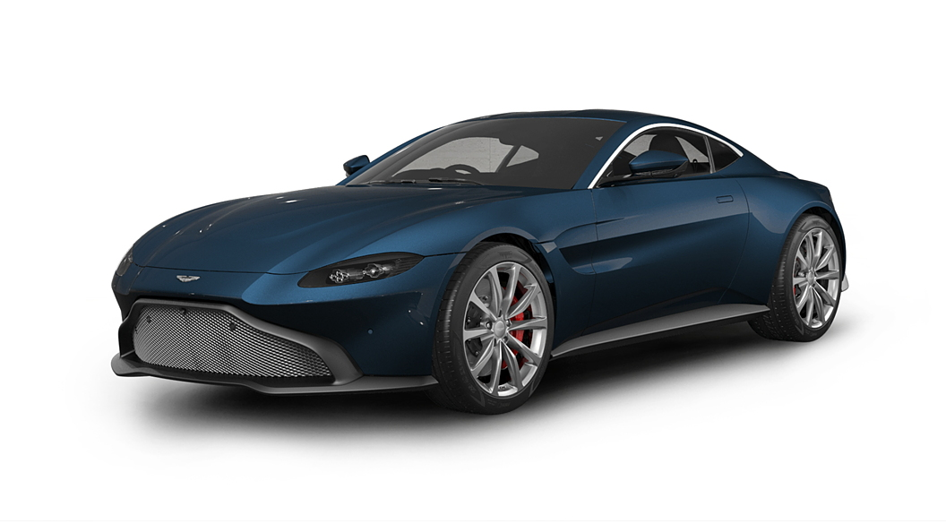 Aston Martin  V8 Vantage Midnight Blue Colour