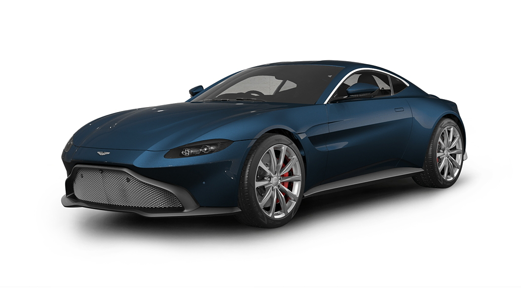 Aston Martin  Vantage Midnight Blue Colour