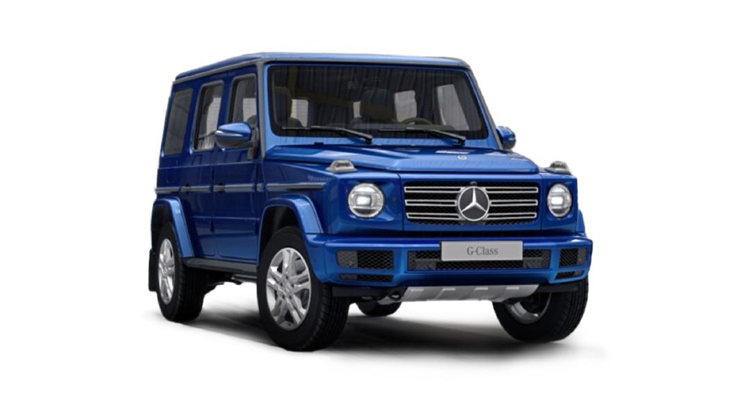Mercedes Benz  G-Class Brilliant Blue Colour