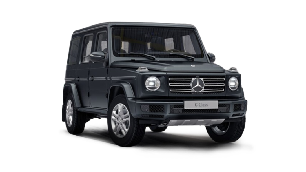 Mercedes Benz  G-Class Designo Night Black Magno Colour