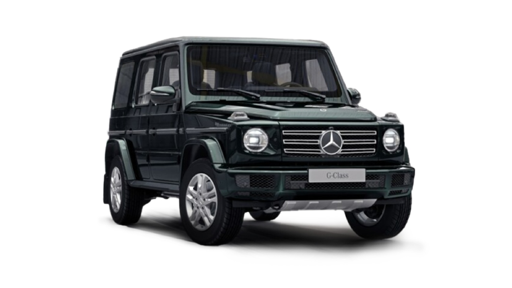 Mercedes Benz  G-Class Emerald Green Colour