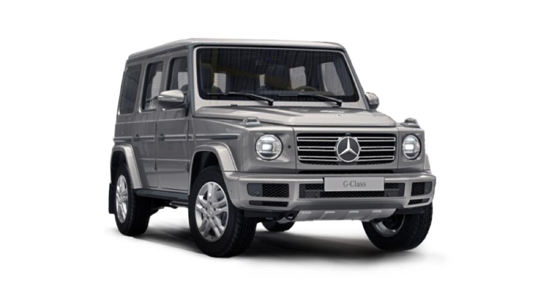 Mercedes Benz  G-Class Mojave Silver Colour