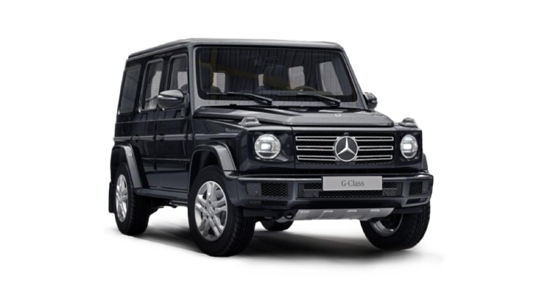 Mercedes Benz  G-Class Obsidian Black Colour