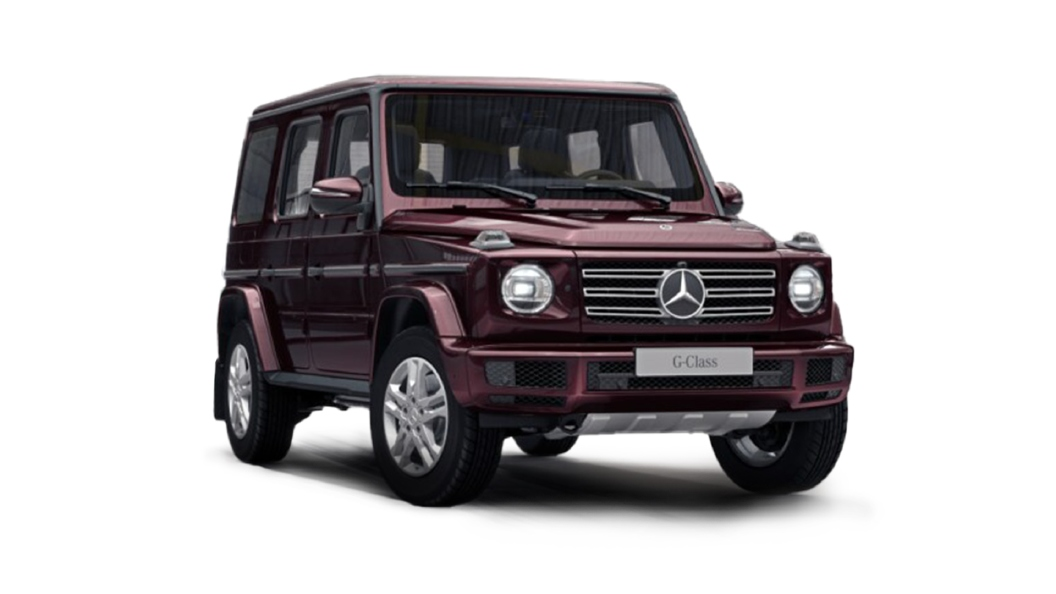 Mercedes Benz  G-Class Rubellite Red Colour