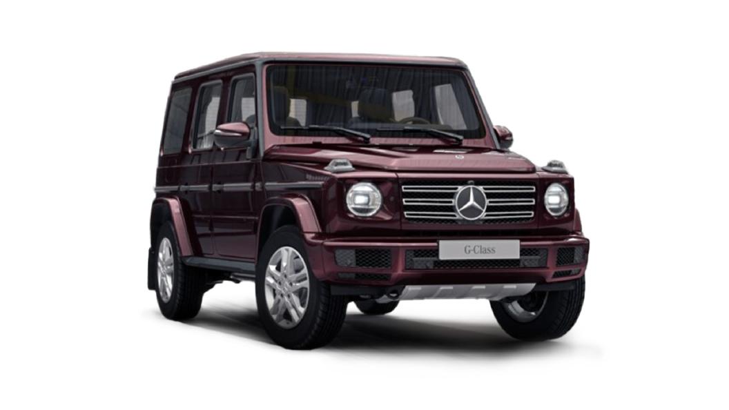 Mercedes Benz  G-Class Rubellite Red Colour