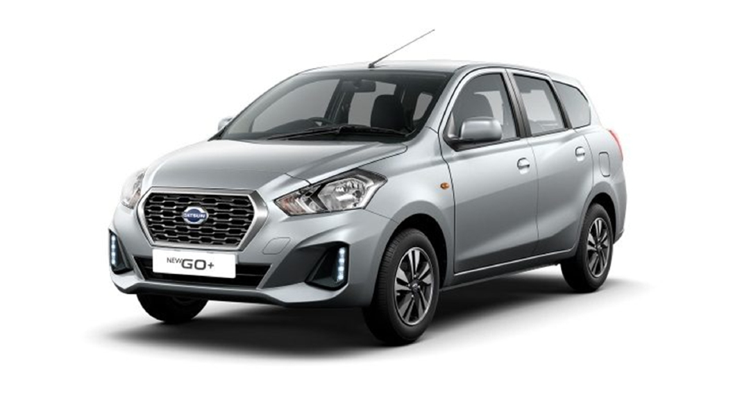 Datsun  Go + Crystal Silver Colour