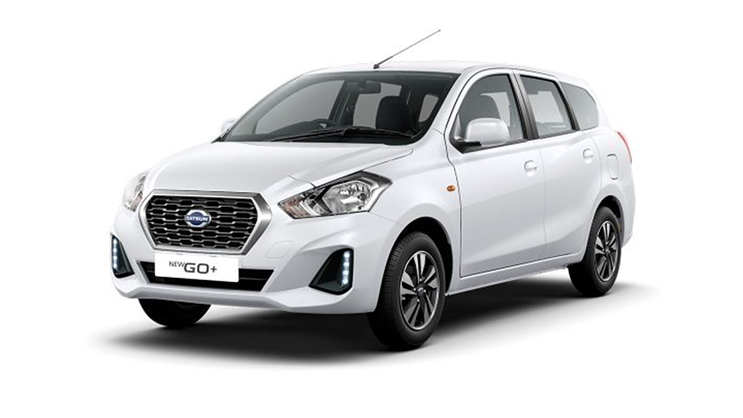Datsun  Go + Opal White Colour