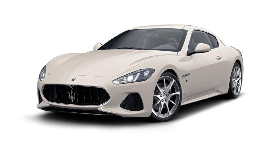 Maserati  GranTurismo Bianco Eldorado Colour