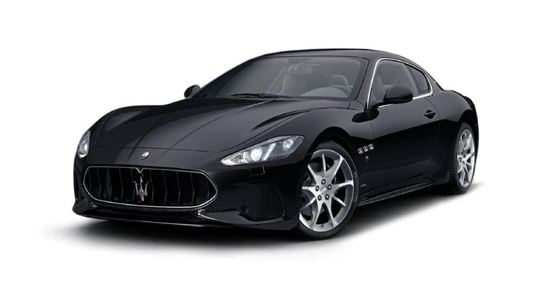 Maserati  GranTurismo Nero Carbonio Colour