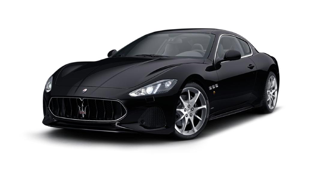 Maserati  GranTurismo Nero Colour