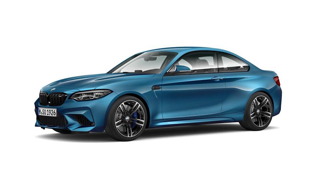 BMW  M2 Long Beach Blue Metallic Colour