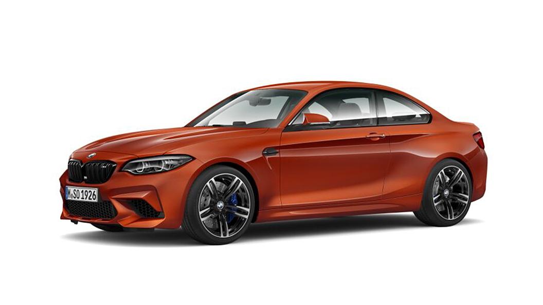 BMW  M2 Sunset Orange Metallic Colour
