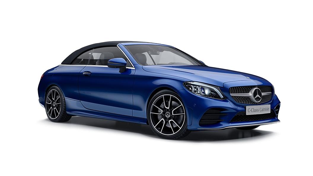 Mercedes Benz  C-Class Cabriolet Brilliant Blue Colour