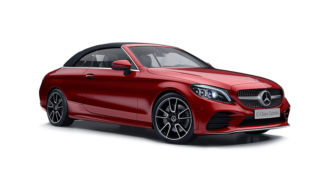 Mercedes Benz  C-Class Cabriolet Designo Hyacinth Red Colour