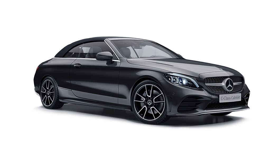 Mercedes Benz  C-Class Cabriolet Designo Selenite Grey Magno Colour