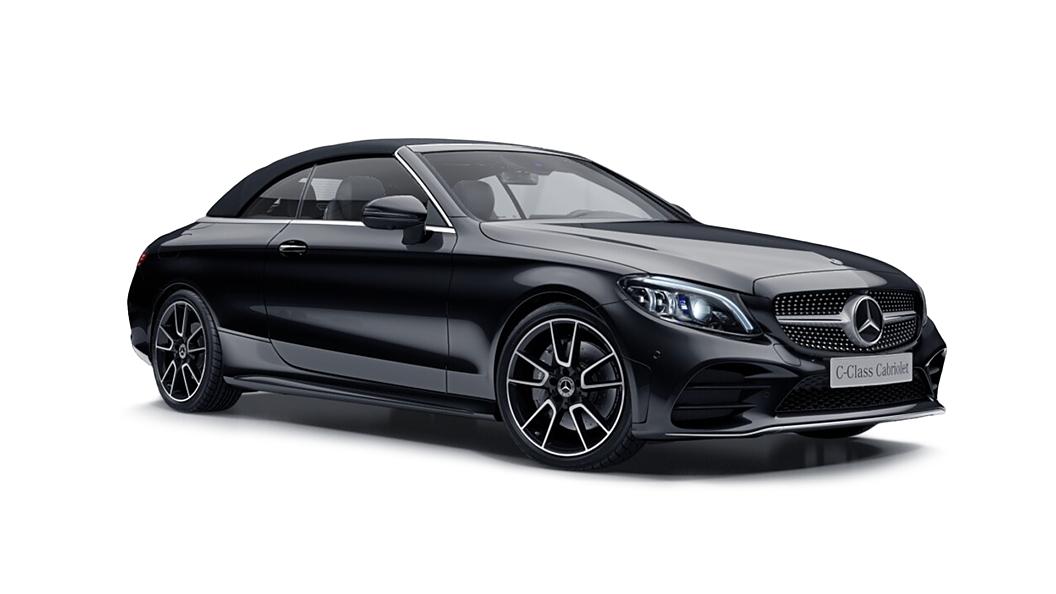 Mercedes Benz  C-Class Cabriolet Obsidian Black Colour