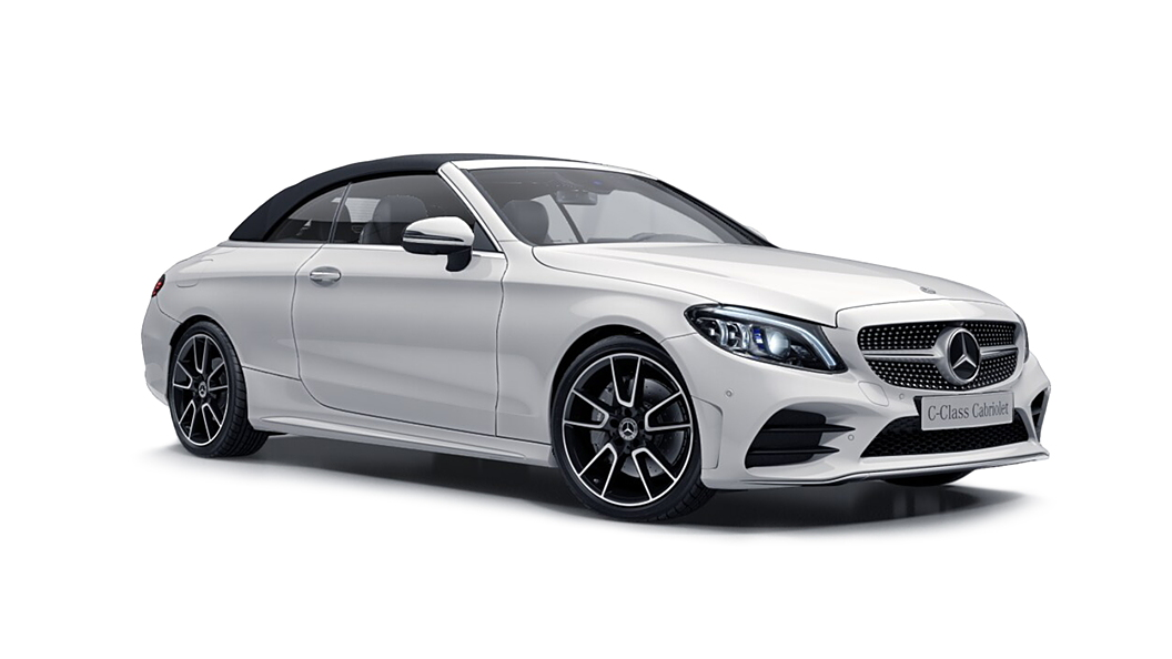 Mercedes Benz  C-Class Cabriolet Polar White Colour