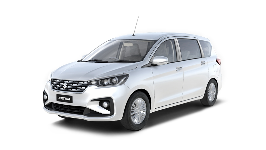 Maruti Suzuki  Ertiga Metallic Silky Silver Colour