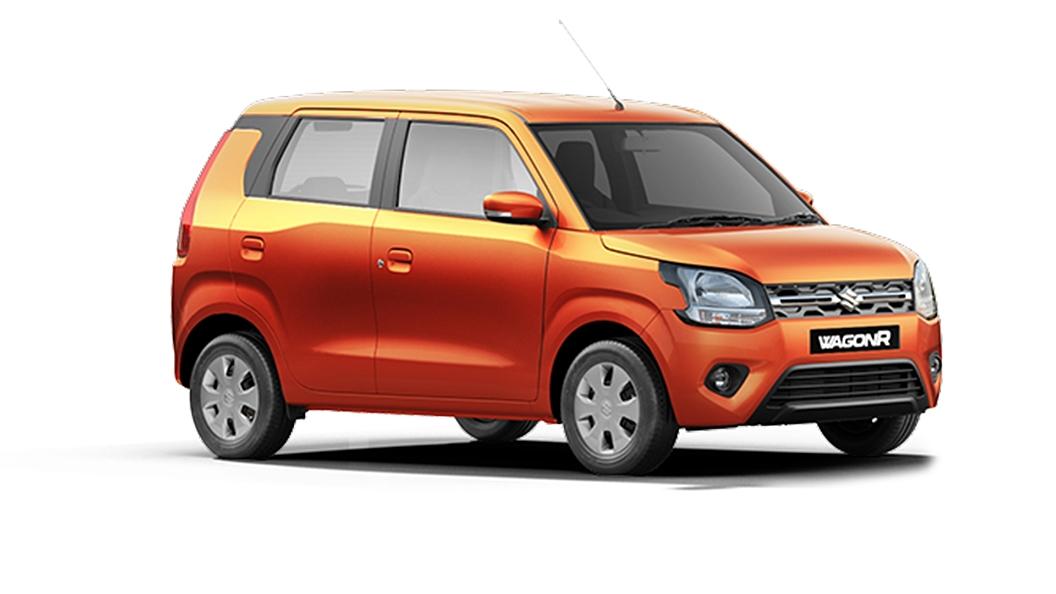 Maruti Suzuki  Wagon R Autumn Orange Colour