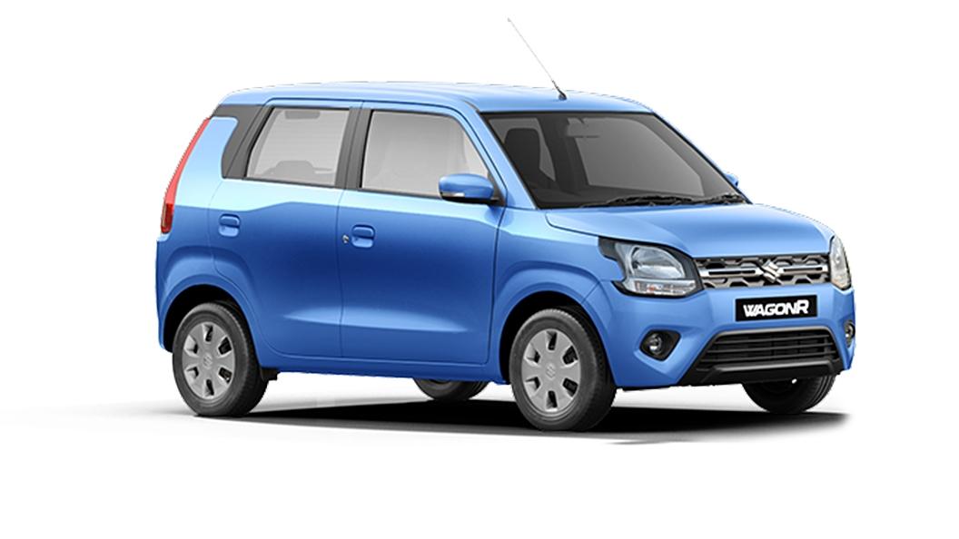 Maruti Suzuki  Wagon R Poolside Blue Colour