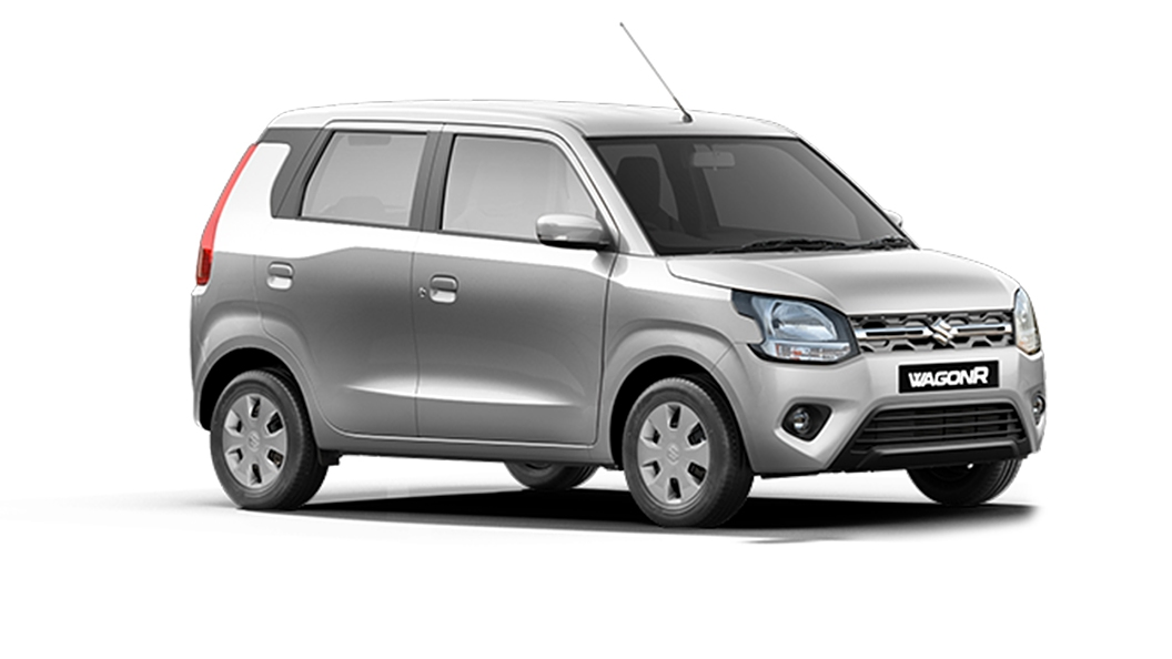 Maruti Suzuki  Wagon R Silky Silver Colour