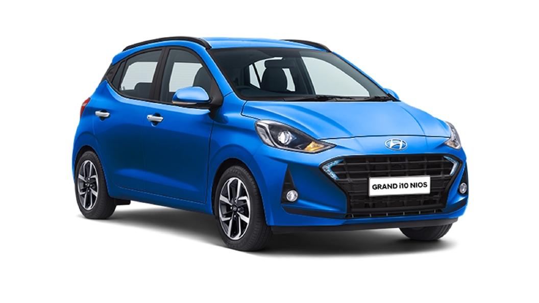 Hyundai  Grand i10 Nios Alpha Blue Colour