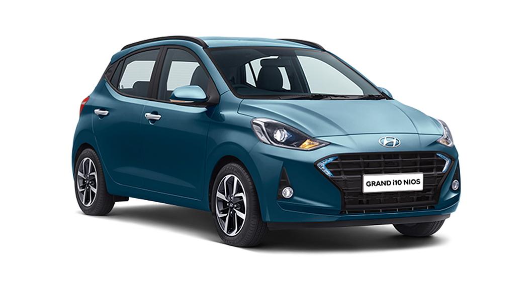 Hyundai  Grand i10 Nios Aqua Teal Colour