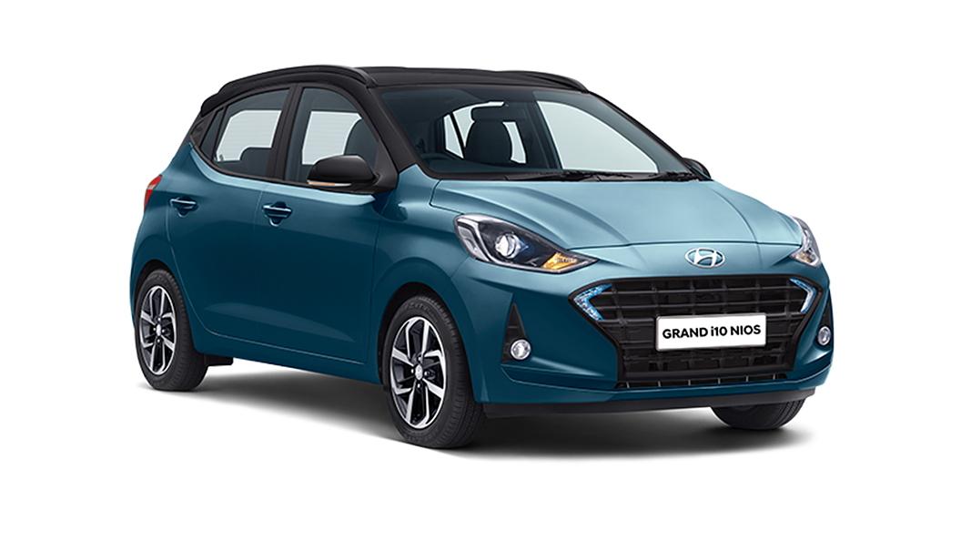 Hyundai  Grand i10 Nios Aqua Teal/Black Colour
