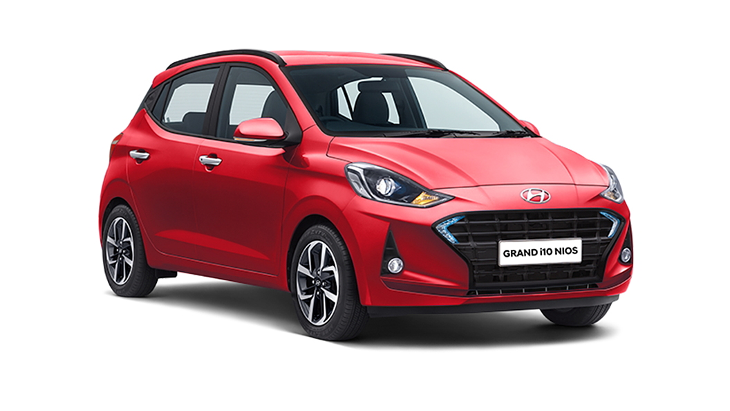Hyundai  Grand i10 Nios Fiery Red Colour