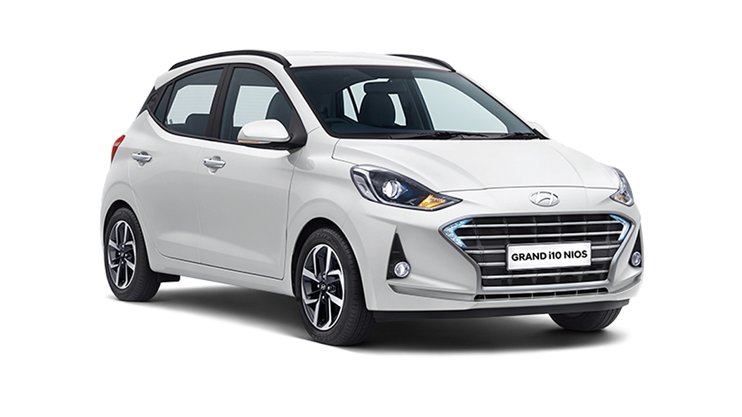 Hyundai  Grand i10 Nios Polar White Colour