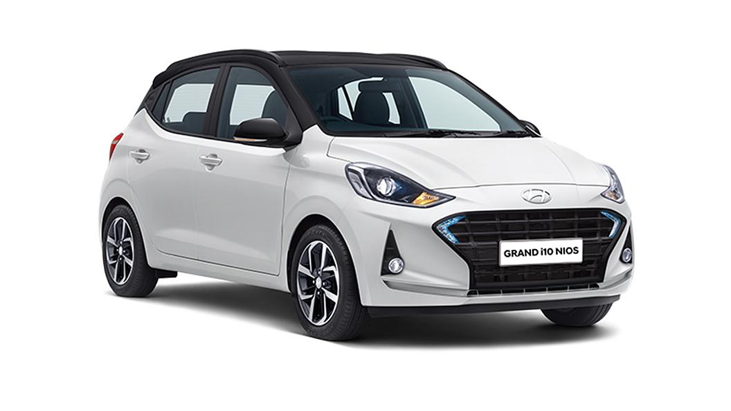 Hyundai  Grand i10 Nios Polar White/Black Colour