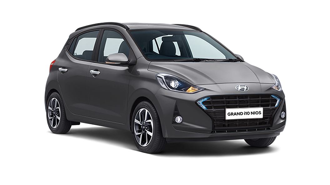 Hyundai  Grand i10 Nios Titan Grey Colour