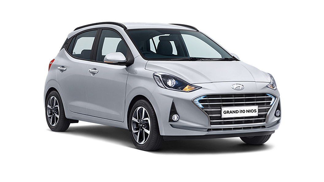 Hyundai  Grand i10 Nios Typhoon Silver Colour