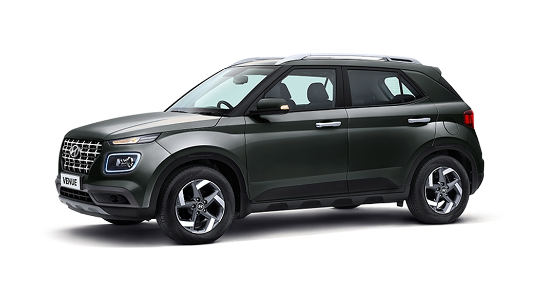Hyundai  Venue Deep Forest Colour