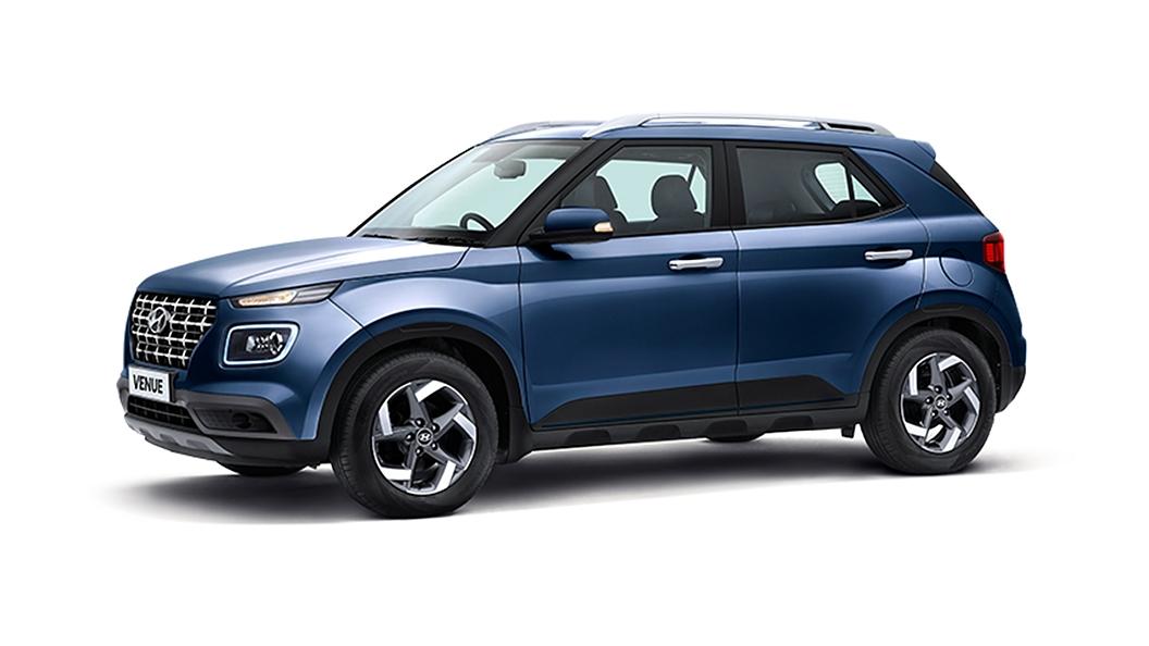 Hyundai  Venue Denim Blue Colour