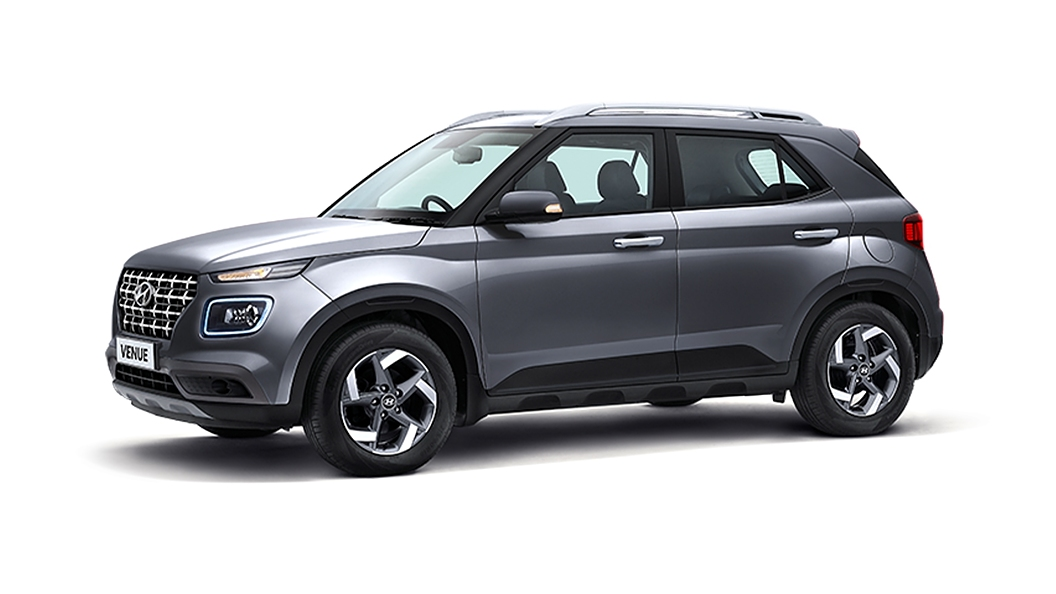 Hyundai  Venue Titan Grey Colour