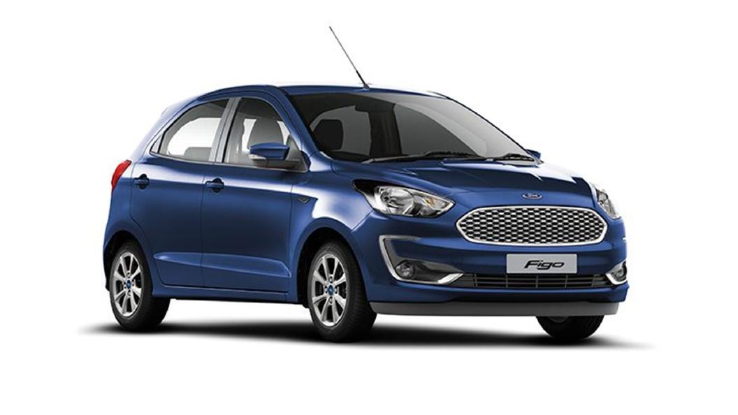 Ford  Figo Deep Impact Blue Colour