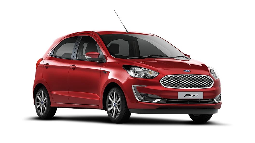 Ford  Figo Ruby Red Colour