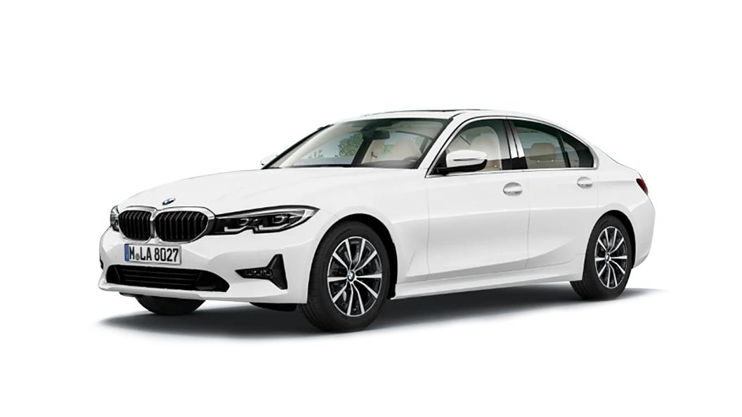 BMW  3 Series Alpine White Colour