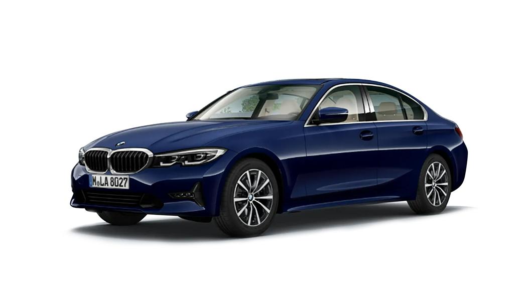 BMW  3 Series Mediterranean Blue Metallic Colour