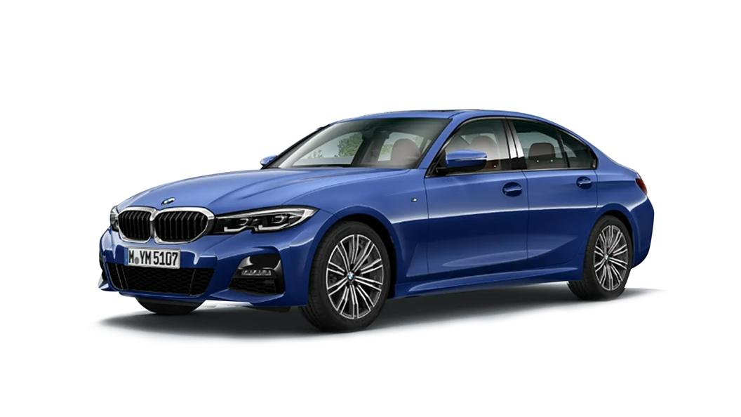BMW  3 Series Portimao Blue Colour