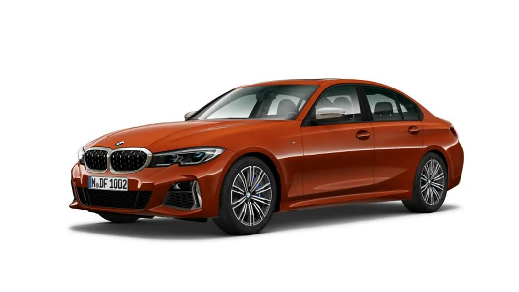 BMW  3 Series Sunset Orange Metallic Colour