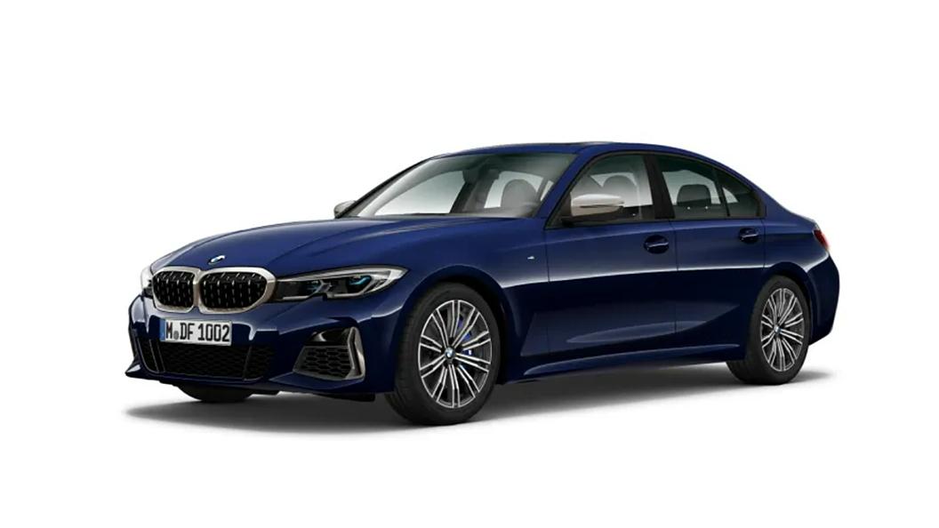 BMW  3 Series Tanzanite Blue Metallic Colour