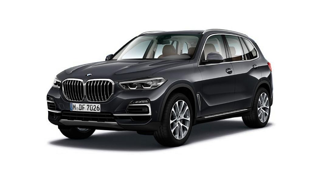 BMW  X5 Arctic Grey Colour
