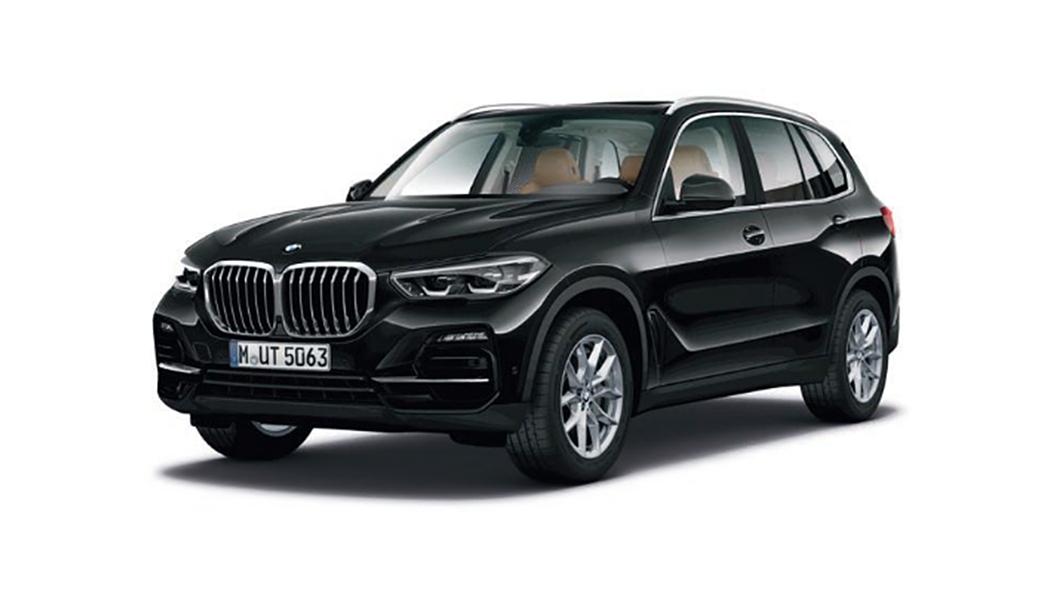 BMW  X5 Black Sapphire Metallic Colour
