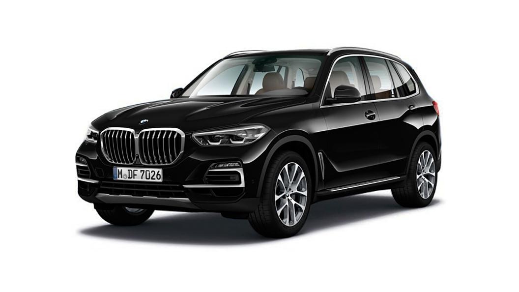 BMW  X5 Carbon Black Colour