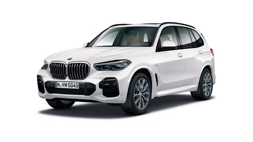 BMW  X5 Mineral White Metallic Colour