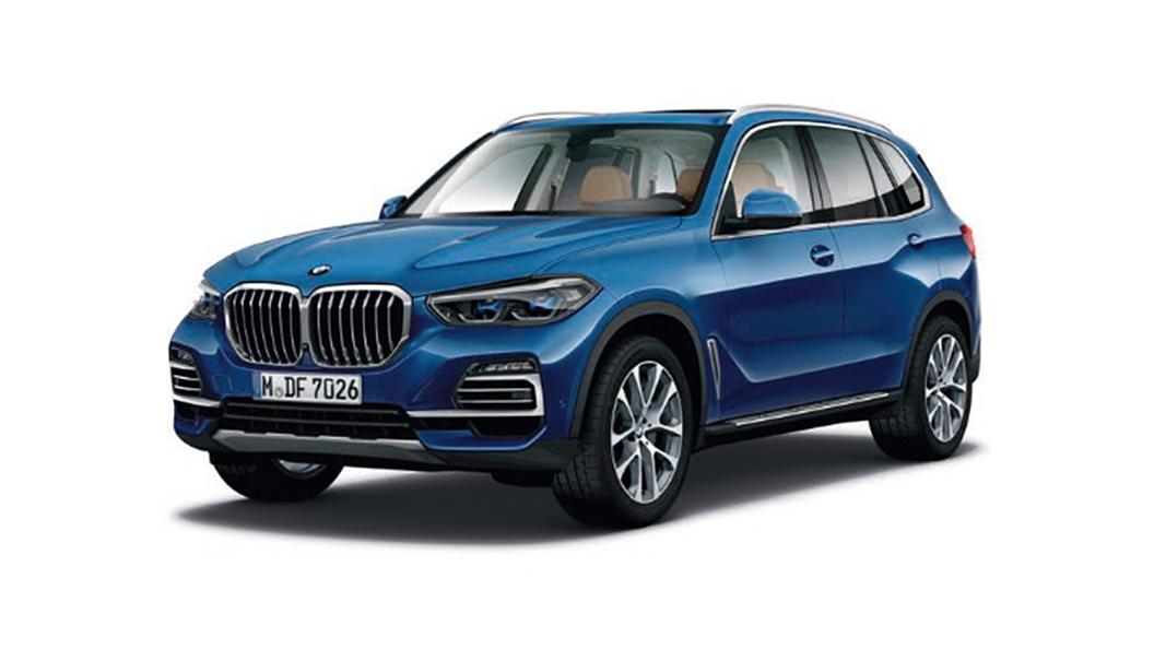 BMW  X5 Phytonic Blue Metallic Colour